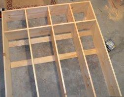 Locker top before painting