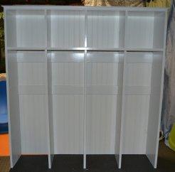 Locker top - after applying 3 coats of paint