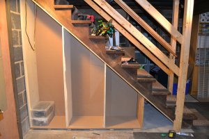 Staircase storage - panels 3