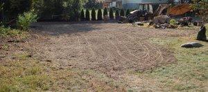 Backyard grading 4