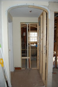 New doorway